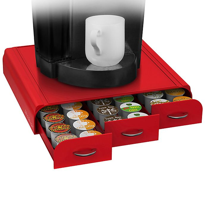 Alternate image 1 for Mind Reader Anchor 36 K-Cup® Capacity Drawer in Red