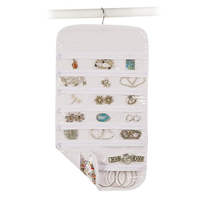 Alternate image 1 for Closetware Clear 37-Pocket Jewelry Organizer