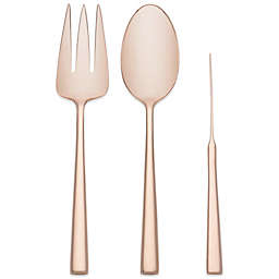 kate spade new york Malmo™ Rose Gold 3-Piece Flatware Set