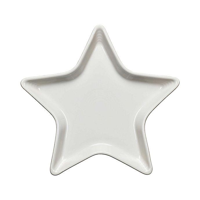 Alternate image 1 for Fiesta® Star Plate in White