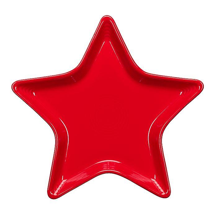 Alternate image 1 for Fiesta® Star Plate in Scarlet