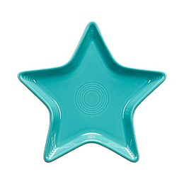 Fiesta® Star Plate in Turquoise