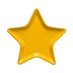 Fiesta® Ceramic Star Accent Plate in Daffodil