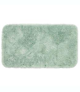 Tapete para baño de fibras sintéticas Wamsutta® Duet color menta