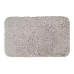 """Nestwell™ Soft Plush 21"""" x 34"""" Bath Rug in Chrome"""