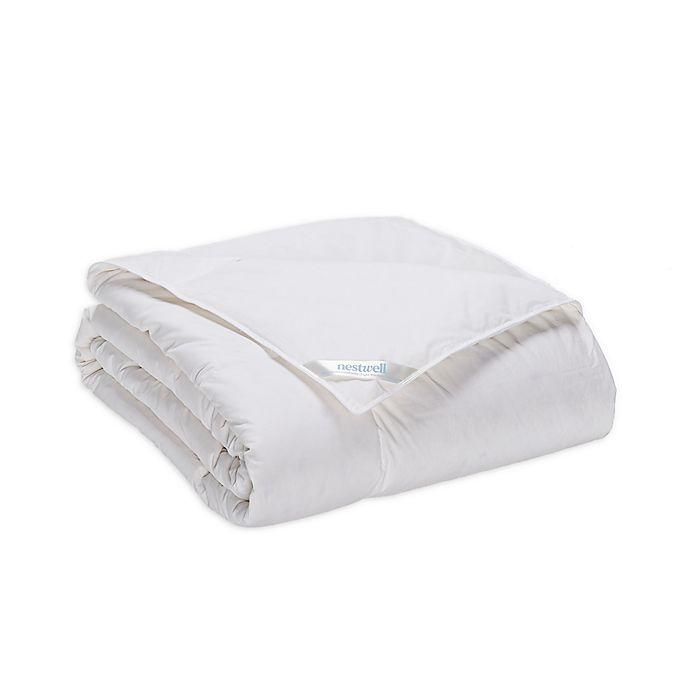Alternate image 1 for Nestwell™ Light Warmth White Down Comforter