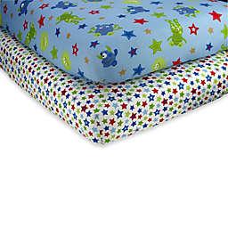 NoJo® Monster Babies Crib Sheet (Set of 2)