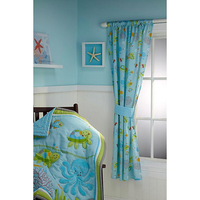 Alternate image 1 for Little Bedding by NoJo® Ocean Dreams Window Panel