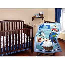 Little Bedding by Nojo Baby Buccaneer Crib Bedding Collection