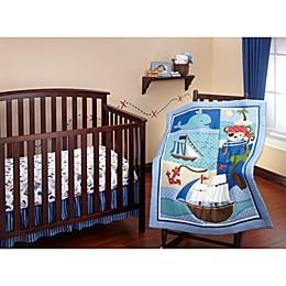 Little Bedding by Nojo Baby Buccaneer 3-Piece Bedding Set