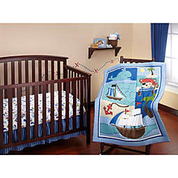 Little Bedding by Nojo Baby Buccaneer 3-Piece Bedding Set