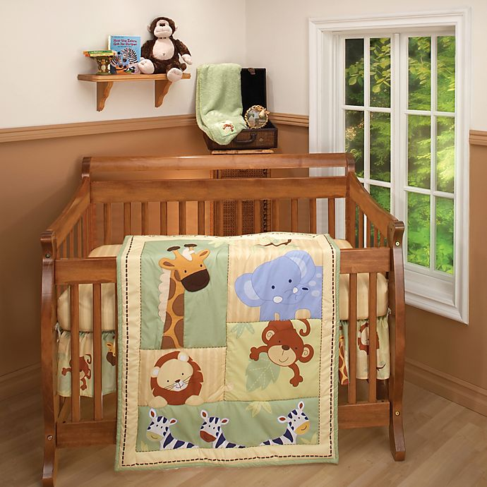 Alternate image 1 for NoJo® Little Bedding Safari Kids Crib Bedding Collection