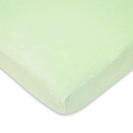 TL Care® Heavenly Soft Chenille Fitted Crib Sheet