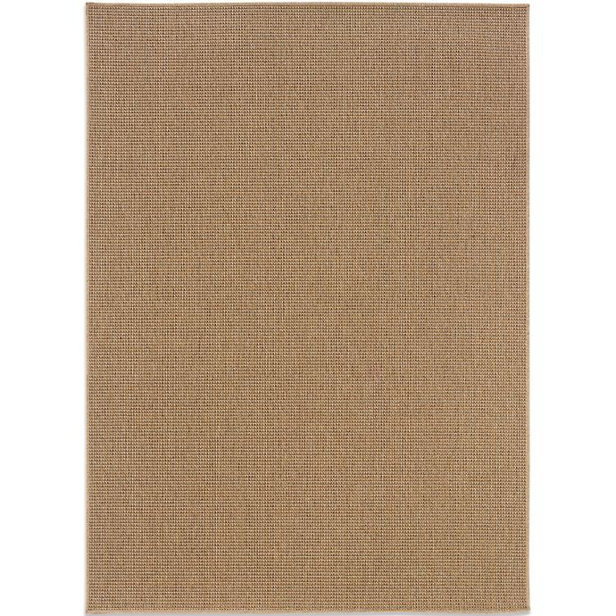 Alternate image 1 for Cabana Bay Kensey 7-Foot 10-Inch x 10-Foot 10-Inch Textured Rug in Brown