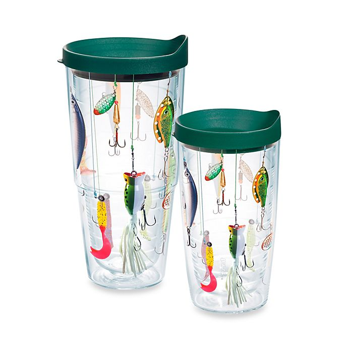 Alternate image 1 for Tervis® Fishing Lures Wrap Tumbler with Lid