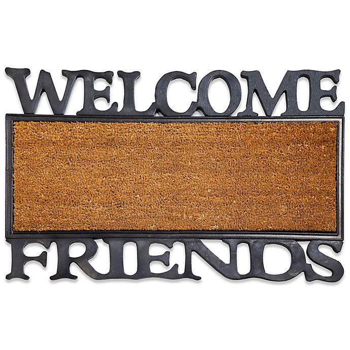 Alternate image 1 for Welcome Friends Coir Door Mat