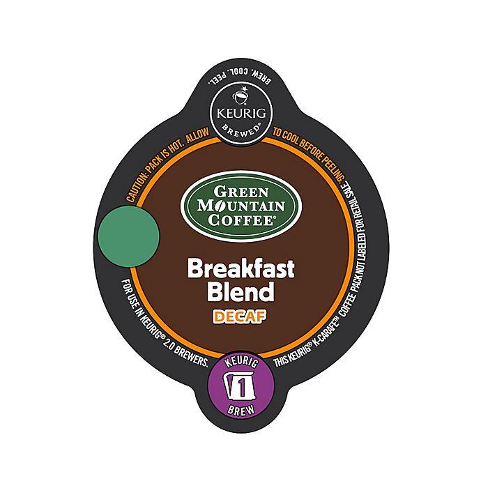 Alternate image 1 for Keurig® K-Carafe™ Pack 8-Count Green Mountain Coffee® Breakfast Blend Decaf Coffee