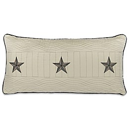 Donna Sharp Texas Pride Oblong Throw Pillow in Ivory