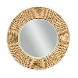 Bassett Mirror Company Palimar Wall Mirror with Sisal Rope