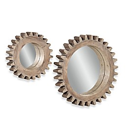 Bassett Mirror Company Sprockets Wall Mirror (Set of 2)