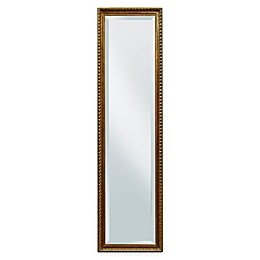 Bassett Mirror Company Arabella Cheval Mirror in Antique Gold