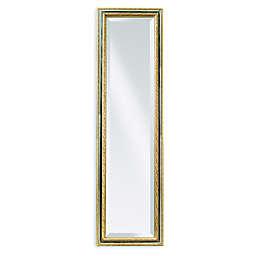 Bassett Mirror Company Regis Cheval Mirror in Silver/Gold