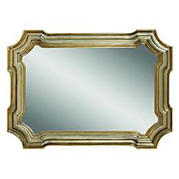 Bassett Mirror Company Angelica Mirror in Silver/Gold