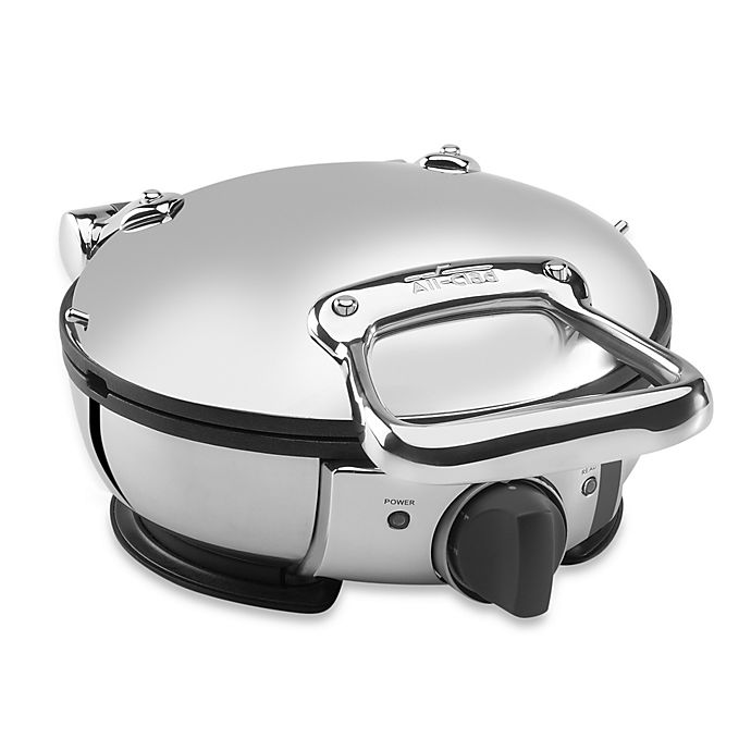 All Clad Classic Round Stainless Steel Waffle Maker Bed Bath And Beyond Canada