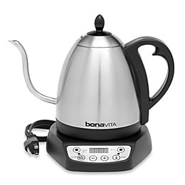 Bonavita® 33.5-Ounce Variable Temperature Electric Gooseneck Kettle in Stainless Steel