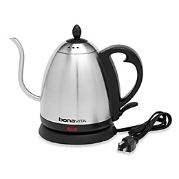 Bonavita® 33.5-Ounce Electric Gooseneck Kettle in Stainless Steel
