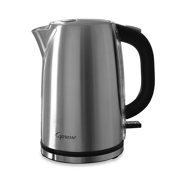 Alternate image 1 for Capresso® H2O Steel Electric Water Kettle