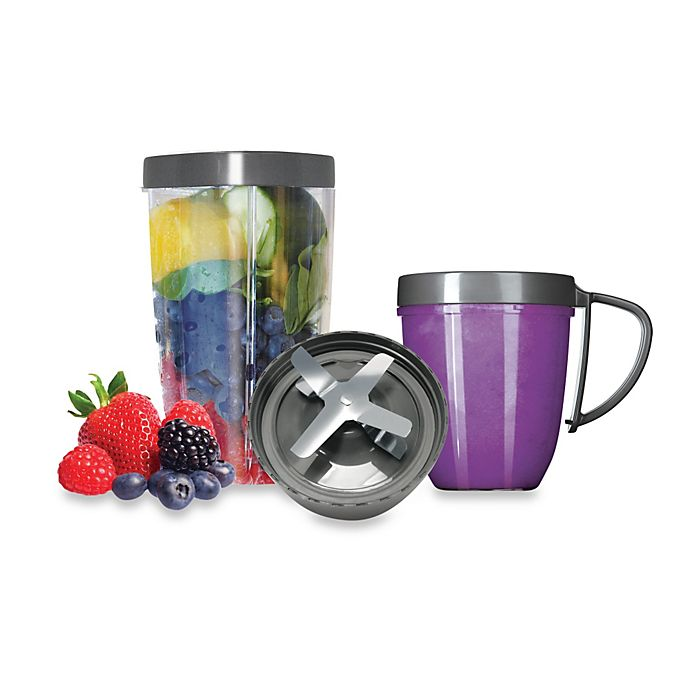 Magic Bullet 174 Nutribullet 174 Deluxe 5 Piece Upgrade Kit Bed Bath And