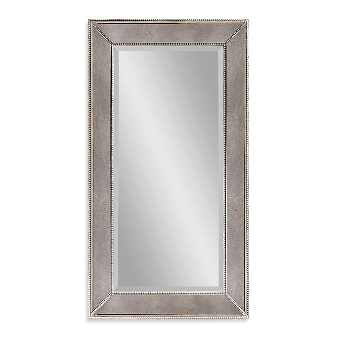 Bed Bath And Beyond Beaumont: Bassett Mirror Company Antique Beaded Wall Mirror In