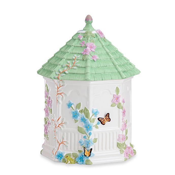 Alternate image 1 for Lenox® Butterfly Meadow® Gazebo Cookie Jar