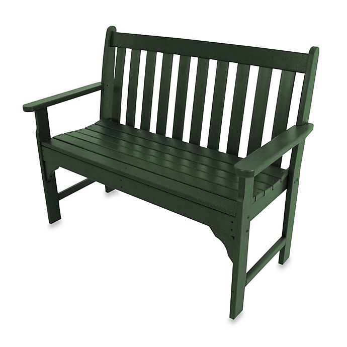 Alternate image 1 for POLYWOOD® Vineyard Bench in Green