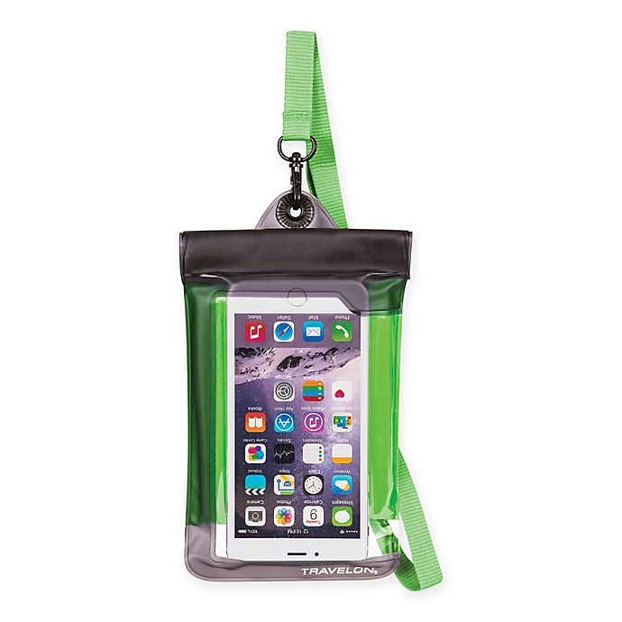 Alternate image 1 for Travelon® Waterproof Smart Phone/Digital Camera Pouch