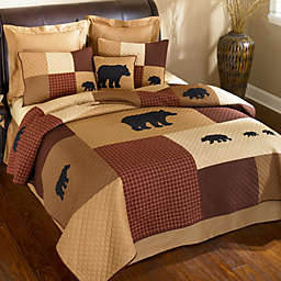 Donna Sharp Logan Bear Quilted Bedding Collection