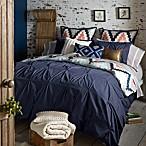 Blissliving® Home Harper King Reversible Duvet Cover Set in Navy
