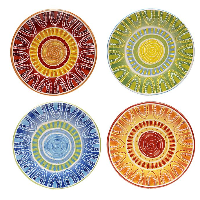 Alternate image 1 for Certified International Tapas 8.75-Inch Dessert Plate (Set of 4)