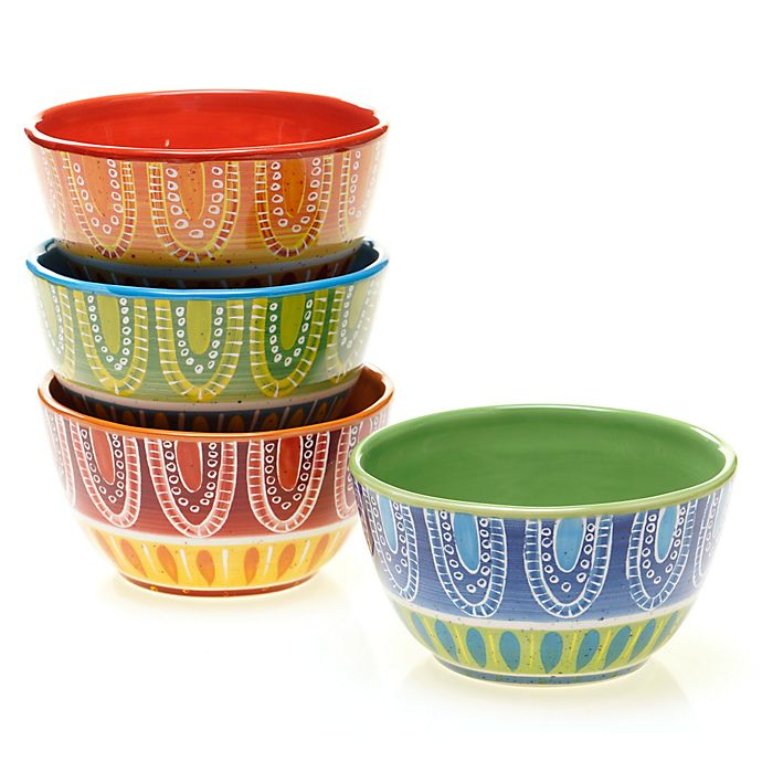 Alternate image 1 for Certified International Tapas Ice Cream Bowl (Set of 4)