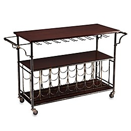 Southern Enterprises Rolden Wine/Bar Cart