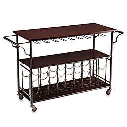 Southern Enterprises Rolden Wine/Bar Cart