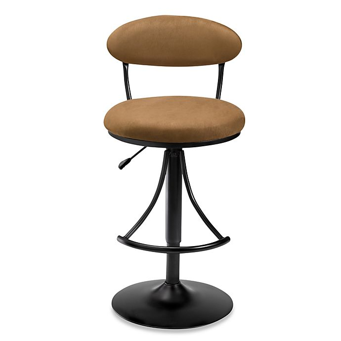 Hillsdale Venus Swivel Bar Stool In Bear Bed Bath Amp Beyond