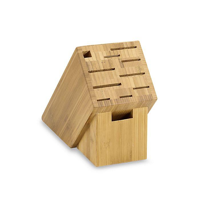 Alternate image 1 for Shun Classic 11-Slot Bamboo Block