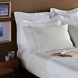 Frette At Home Adige King Pillowcase in Ivory