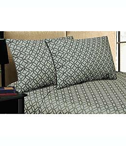 Home Dynamix Micro Lush Set de sábanas king de microfibra en gris