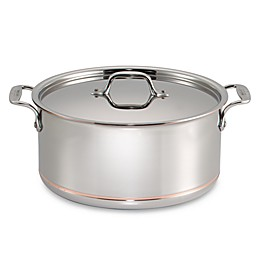 All-Clad Copper Core® 8 qt. Covered Stock Pot