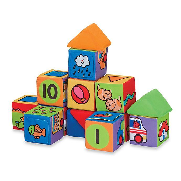 Alternate image 1 for Melissa & Doug® K's Kids® Match & Build Blocks