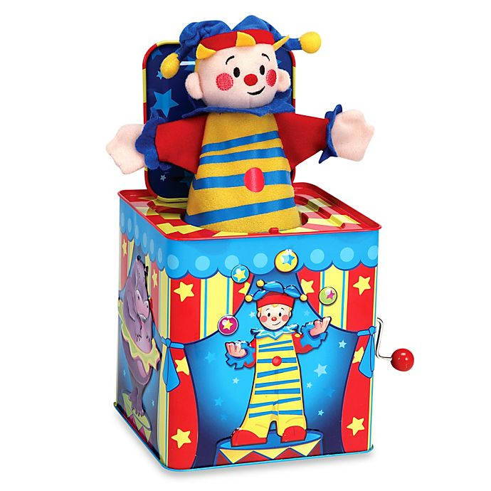 Alternate image 1 for Silly Circus Jack in the Box