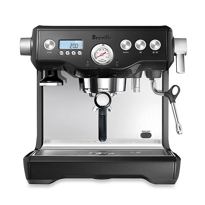 Alternate image 1 for Breville® Dual Boiler™ Espresso Maker in Black Sesame